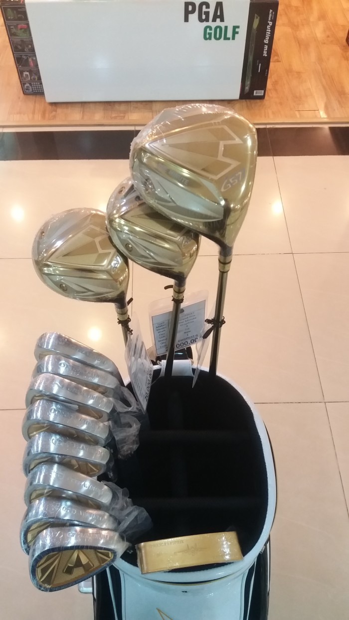 Bộ Gậy Golf Grand-Prix Gold Thương Hiệu số 1 tại Nhật0
