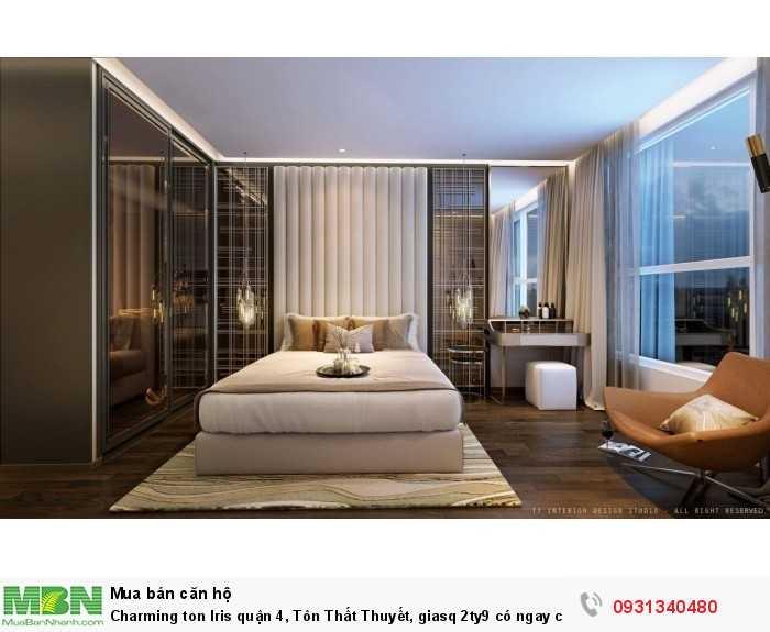 Charming ton Iris quận 4, Tôn Thất Thuyết, có ngay căn hộ siêu rẻ lợi nhuận ở và cho thuê