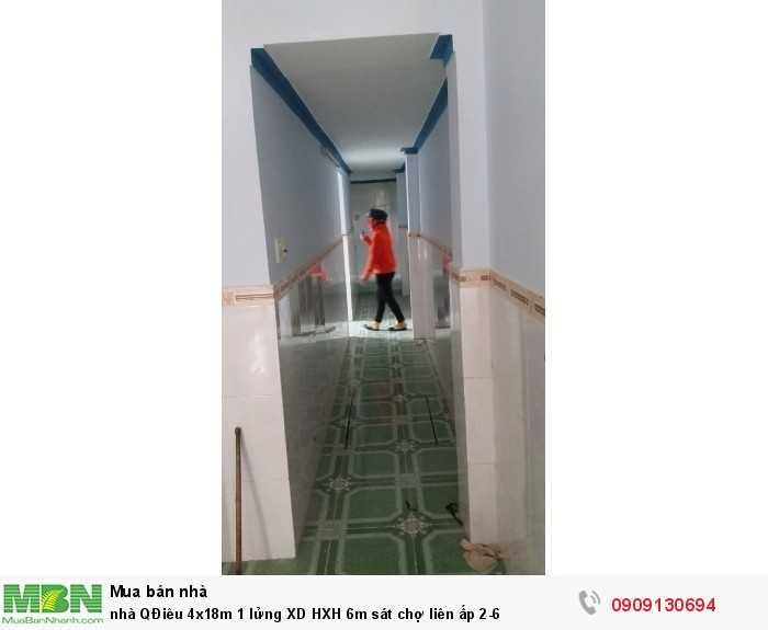 Nhà Quách Điêu 4x18m 1 lửng XD HXH 6m sát chợ liên ấp 2-6