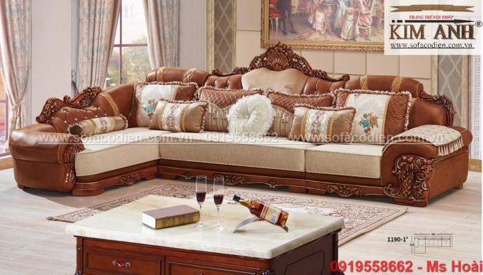[9] Những mẫu sofa cổ điển góc L đẹp, rẻ tại Cần thơ, An Giang