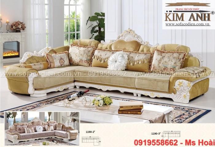 [11] Những mẫu sofa cổ điển góc L đẹp, rẻ tại Cần thơ, An Giang