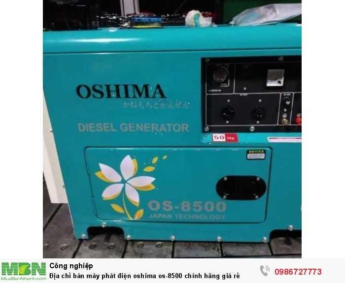 Địa chỉ bán máy phát điện oshima os-8500 chính hãng giá rẻ0