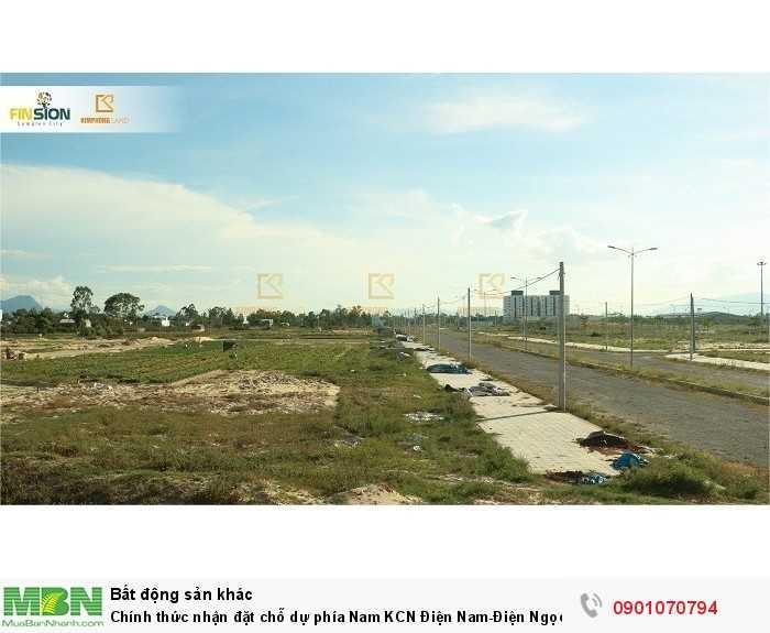 Chính thức nhận đặt chỗ dự phía Nam KCN Điện Nam-Điện Ngọc,ven sông cổ cò