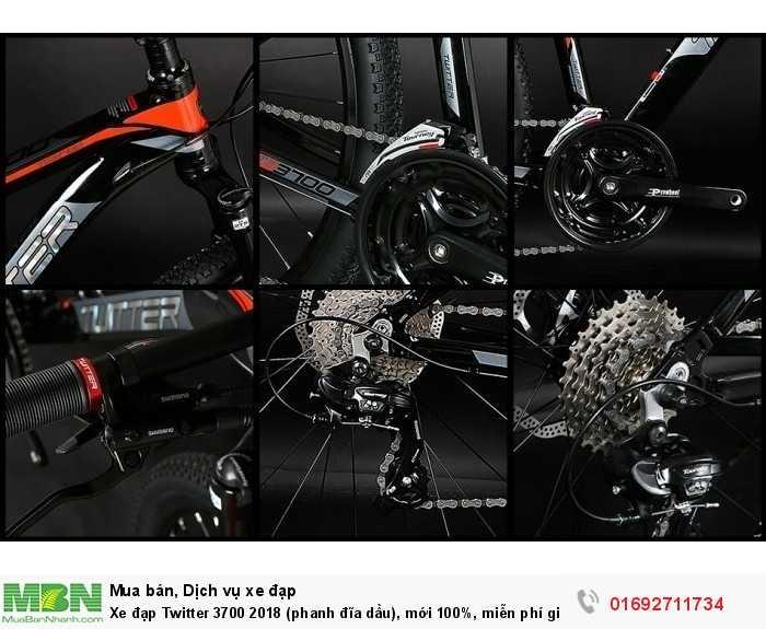 Bộ truyền động Shimano Tourney 24 speed: 3 đĩa trước, 8 líp sau