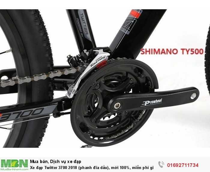 Chuyển tốc trước: Shimano Tourney FD-TY500