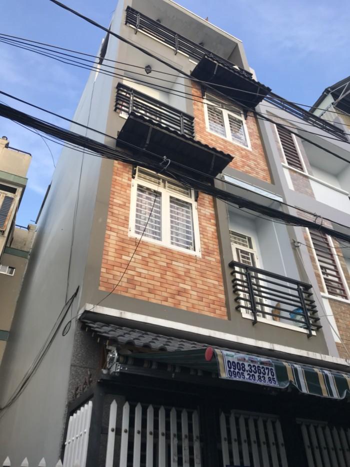 Bán nhà hẻm đường Gò Dầu , P Tân Quý Q Tân Phú
