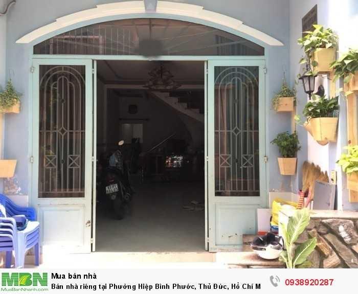 Bán nhà riêng tại Phường Hiệp Bình Phước, Thủ Đức, Hồ Chí Minh