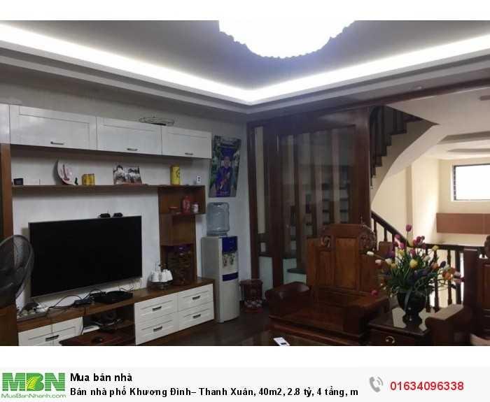 Bán nhà phố Khương Đình– Thanh Xuân, 40m2, 4 tầng, mới.