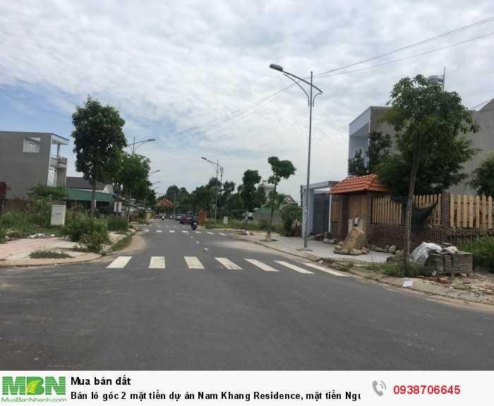 Bán lô góc 2 mặt tiền dự án Nam Khang Residence, mặt tiền Nguyễn Duy Trinh, Q9