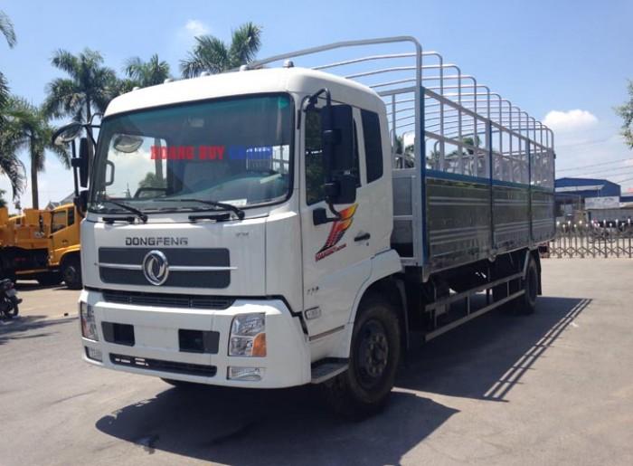 Xe tải thùng 2 chân Dongfeng Hoàng Huy động cơ 170Hp 4