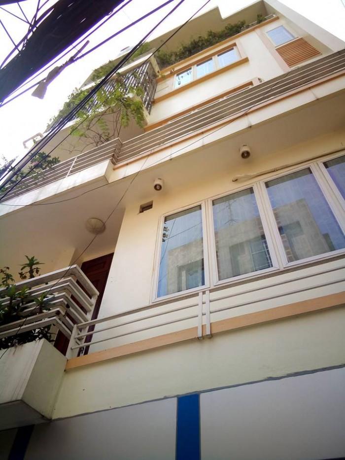 Nhà 5 tầng mặt tiền 6m ở Tôn Đức Thắng Đống Đa 56m2 ô tô vào nhà giá 9.2 tỷ