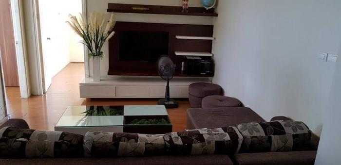 Chính chủ bán gấp căn góc 2 mặt thoáng, 77m2, 2 phòng ngủ, full nội thất ở CT1A Xala, Hà Đông, HN