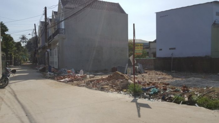 Bán nhanh lô đất 2 mặt tiền Đặng Công Bỉnh,Hóc Môn 540 triệu.