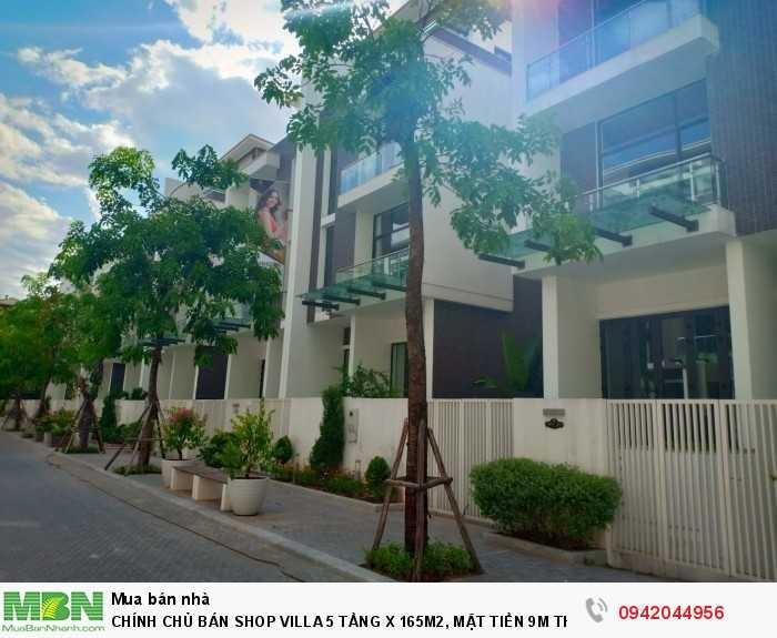 Chính Chủ Bán Shop Villa 5 Tầng X 165m2, Mặt Tiền 9m Thanh Xuân.