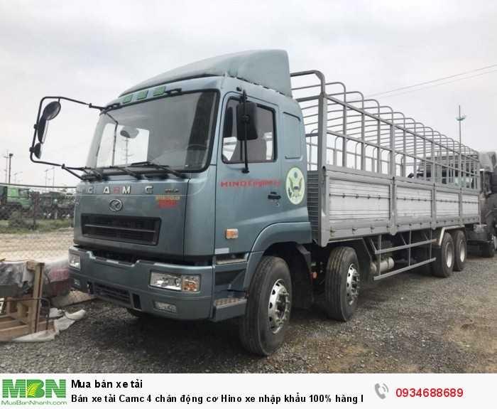 Bán xe tải Camc 4 chân động cơ Hino xe nhập khẩu 100% hàng hiếm