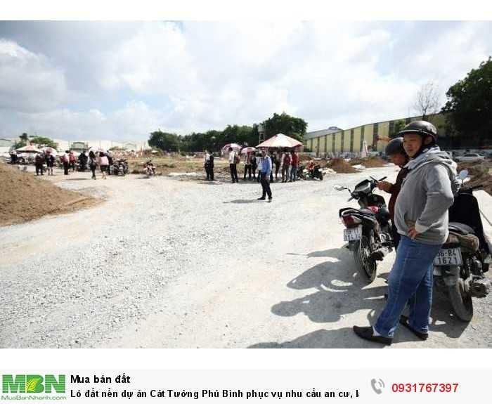 Lô đất nền dự án Cát Tường Phú Bình phục vụ nhu cầu an cư, lập nghiệp