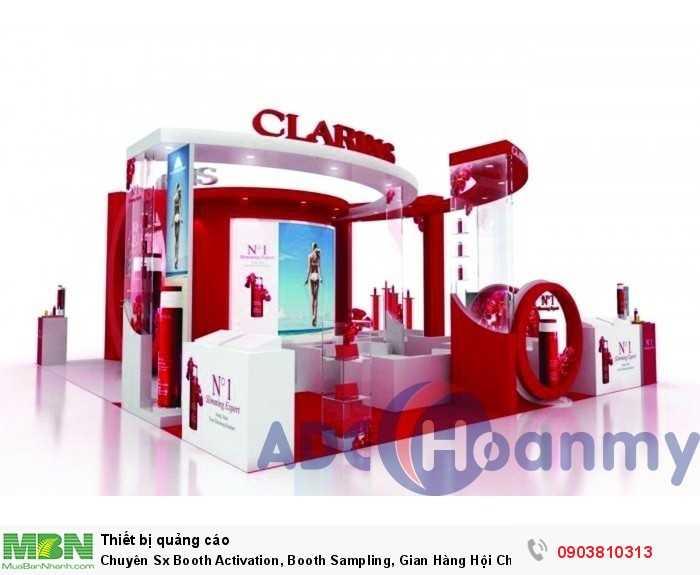 Chuyên Sx Booth Activation, Booth Sampling, Gian Hàng Hội Chợ, Triển Lãm0