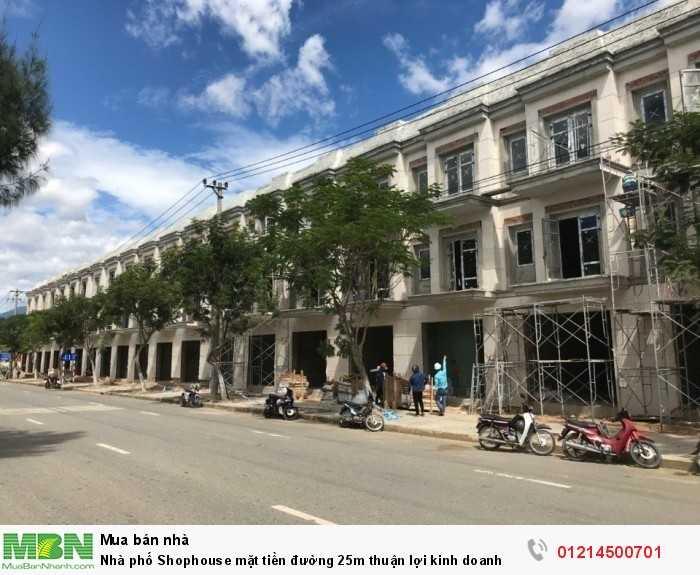 Nhà phố Shophouse mặt tiền đường 25m thuận lợi kinh doanh