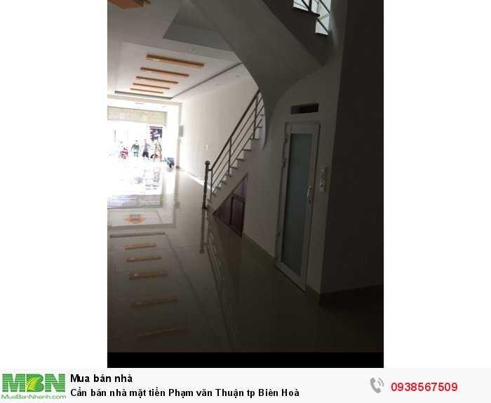 Cần bán nhà mặt tiền Phạm văn Thuận tp Biên Hoà