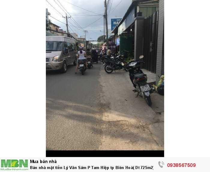 Bán nhà mặt tiền Lý Văn Sâm P Tam Hiệp tp Biên Hoà( Dt 725m2)