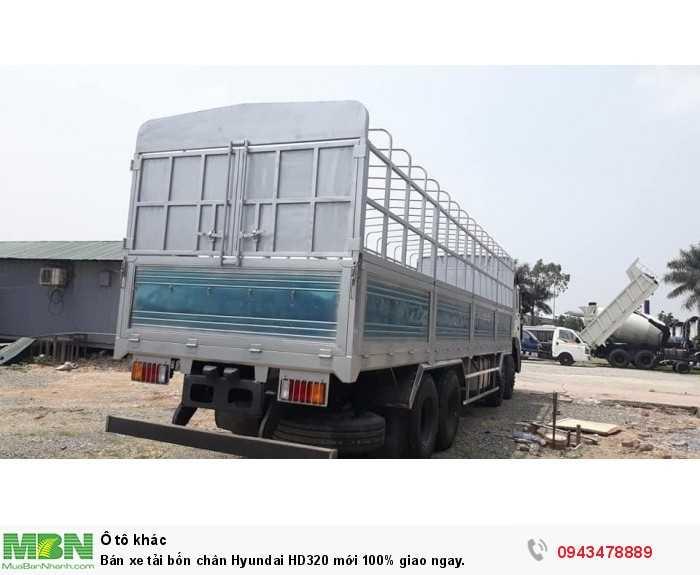 Bán xe tải bốn chân Hyundai HD320 mới 100% giao ngay. 0