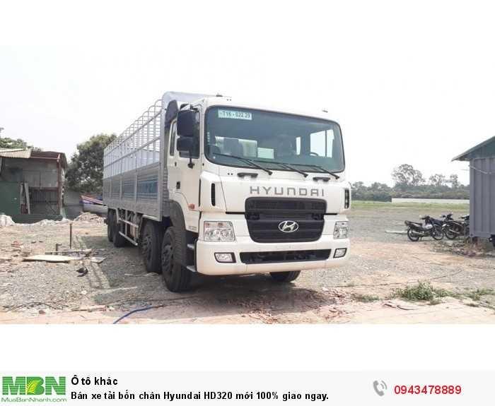 Bán xe tải bốn chân Hyundai HD320 mới 100% giao ngay. 3