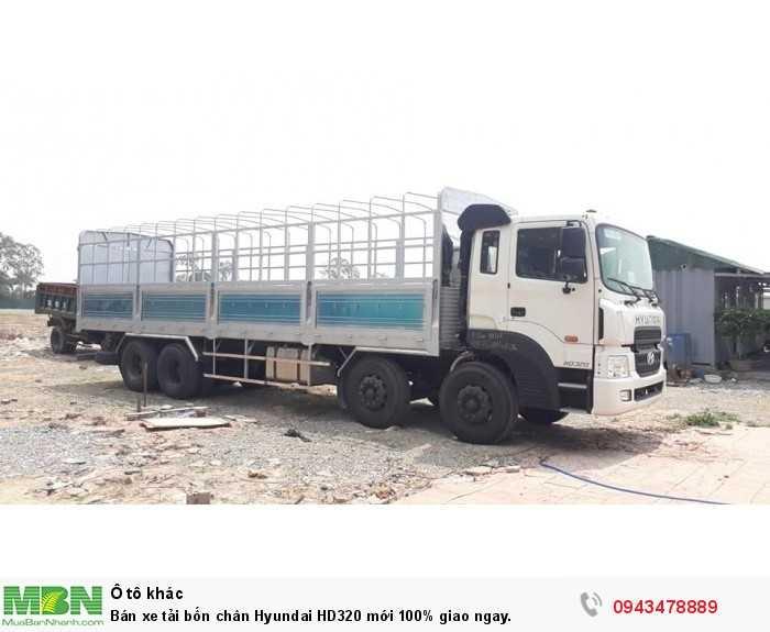 Bán xe tải bốn chân Hyundai HD320 mới 100% giao ngay. 4