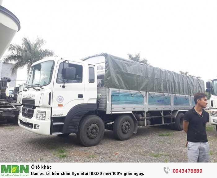 Bán xe tải bốn chân Hyundai HD320 mới 100% giao ngay. 5