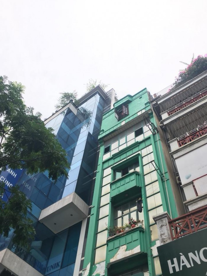 Bán nhà mặt phố Nguyễn Văn Cừ, Long Biên 75/95 m2, 5 tầng
