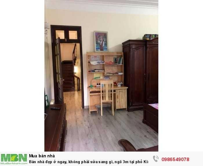 Bán nhà đẹp ở ngay, không phải sửa sang gì, ngõ 3m tại phố Kim Ngưu, Hai Bà Trưng, 40m2x5T