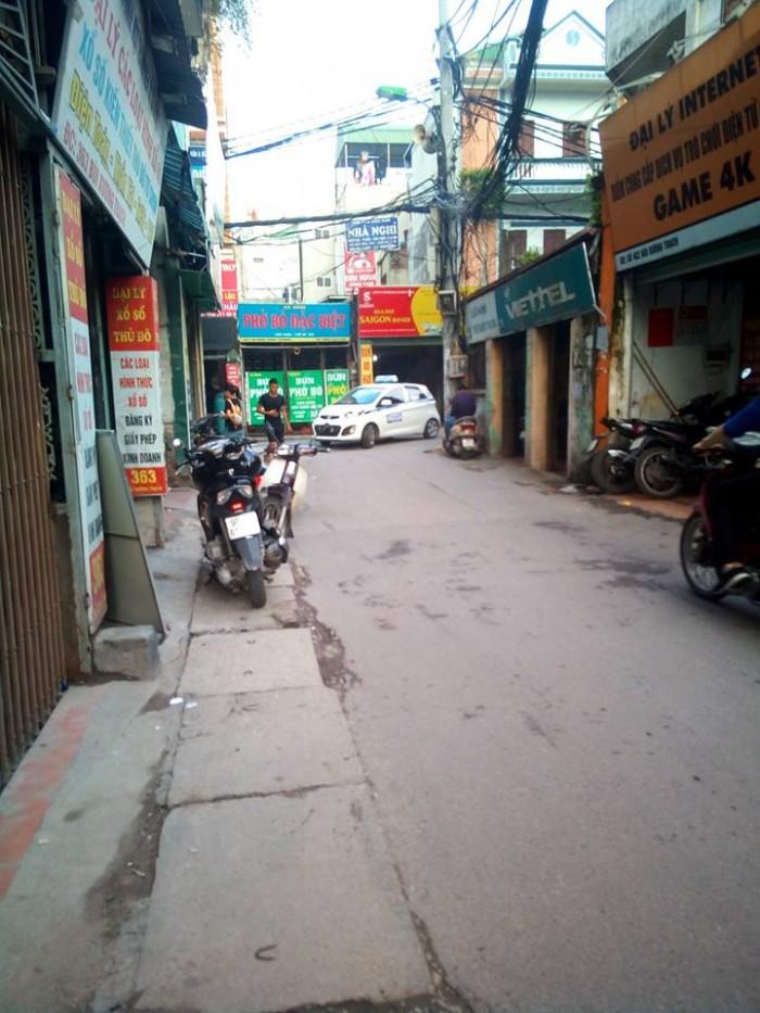 Nhà mặt phố Bùi Xương Trạch phường Định Công 4 tầng 100m2 mặt tiền 4,6m