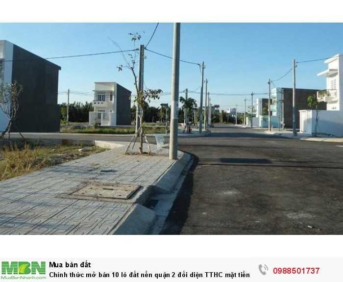 Chính thức mở bán 10 lô đất nền quận 2 đối diện TTHC mặt tiền 20m sổ riêng