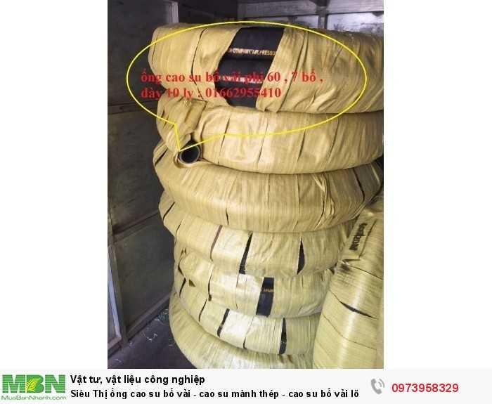 Ống cao su bố vải - cao su mành thép - cao su bố vải lõi thép D423