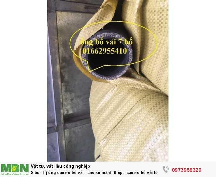 Ống cao su bố vải - cao su mành thép - cao su bố vải lõi thép D426