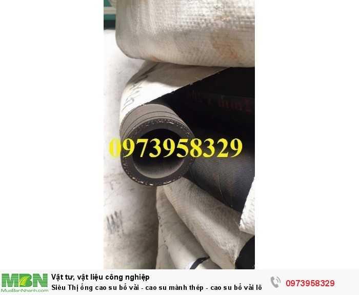 Ống cao su bố vải - cao su mành thép - cao su bố vải lõi thép D427