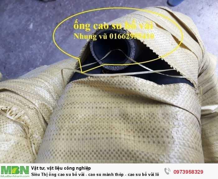 Ống cao su bố vải - cao su mành thép - cao su bố vải lõi thép D428