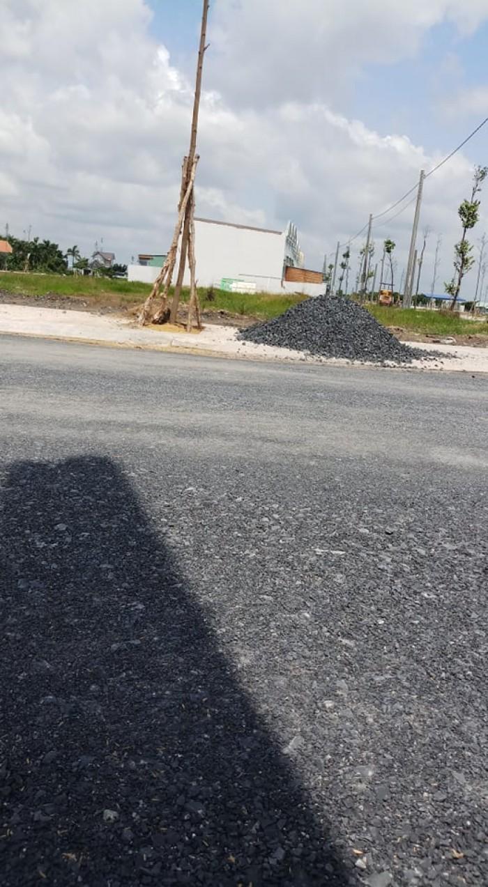 Bán đất gấp đường quốc lộ 50 LA có SHR/GPXD,ĐTC100%