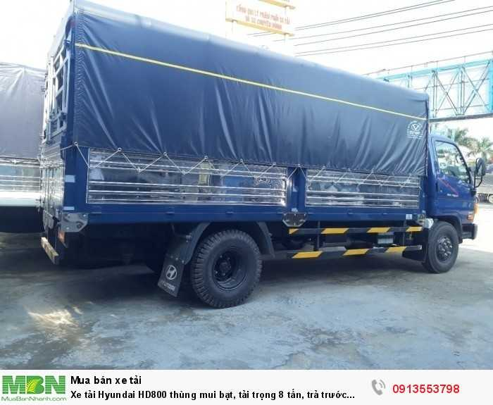 Xe tải Hyundai HD800 tải trọng 8 tấn, trả trước 150 triệu, giao xe ngay- Hotline: 0913553798 (24/24)