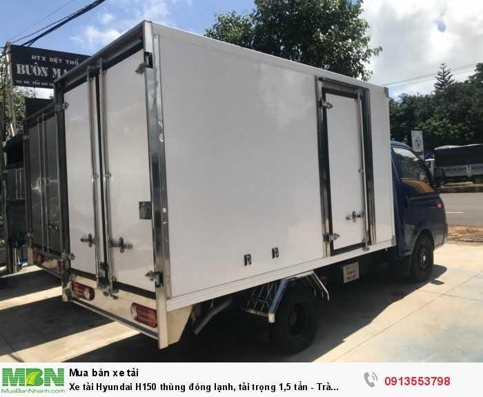 Xe tải Hyundai H150 thùng đông lạnh, tải trọng 1,5 tấn - Trả trước 100 triệu, giao xe ngay 0