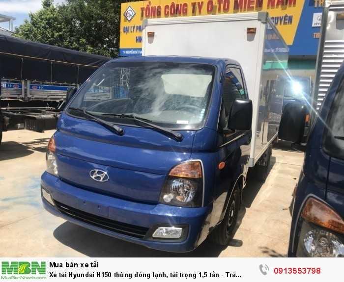 Xe tải Hyundai H150 thùng đông lạnh, tải trọng 1,5 tấn - Trả trước 100 triệu, giao xe ngay 2