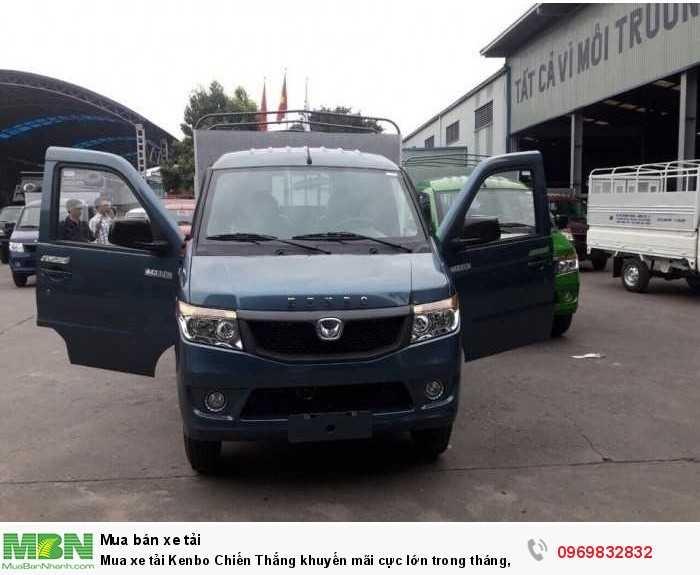 Báo giá Xe kenbo Chiến Thắng 990kg thùng dài 2m7, xe nhỏ giá rẻ, đủ màu giao ngay - gọi báo giá Mr Độ 0969 832 832