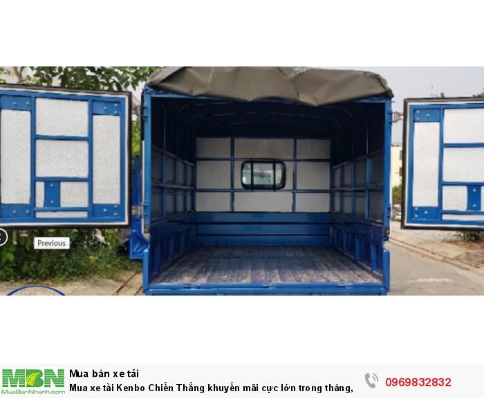 Mua xe Kenbo Chiến Thắng 990kg nhập khẩu nguyên chiếc giá tốt nhất tại Phú Mẫn - Gọi ngay Mr Độ 0969 832 832