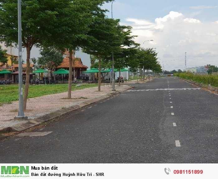 Bán đất đường Huỳnh Hữu Trí - SHR