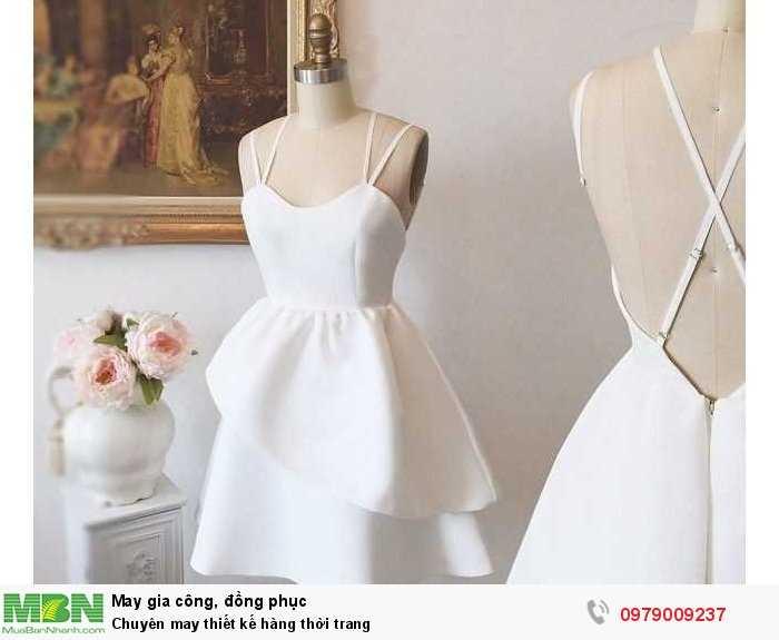 Chuyên may thiết kế hàng thời trang