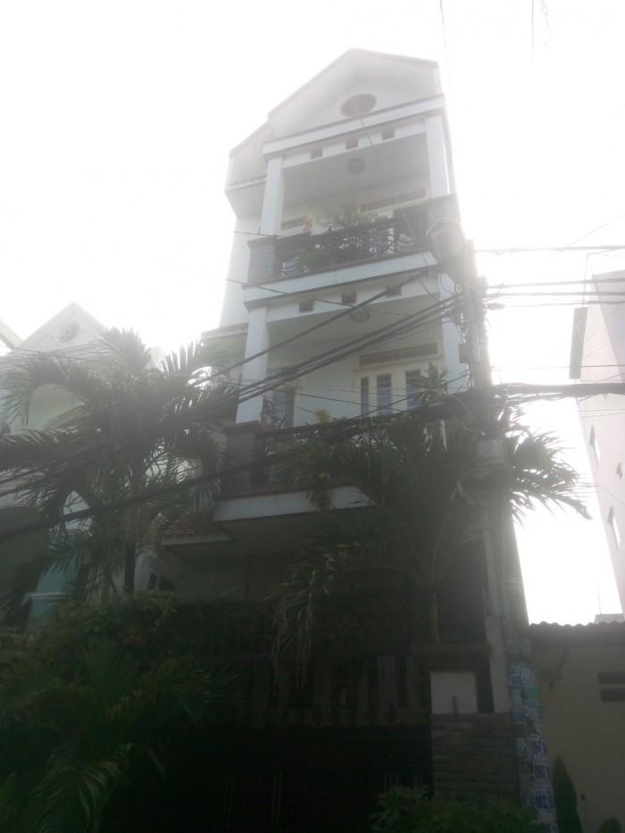 Bán Nhà HXH Đường Gò Dầu.Tân Quý Q Tân Phú.Dt 4x17m.4 tấm