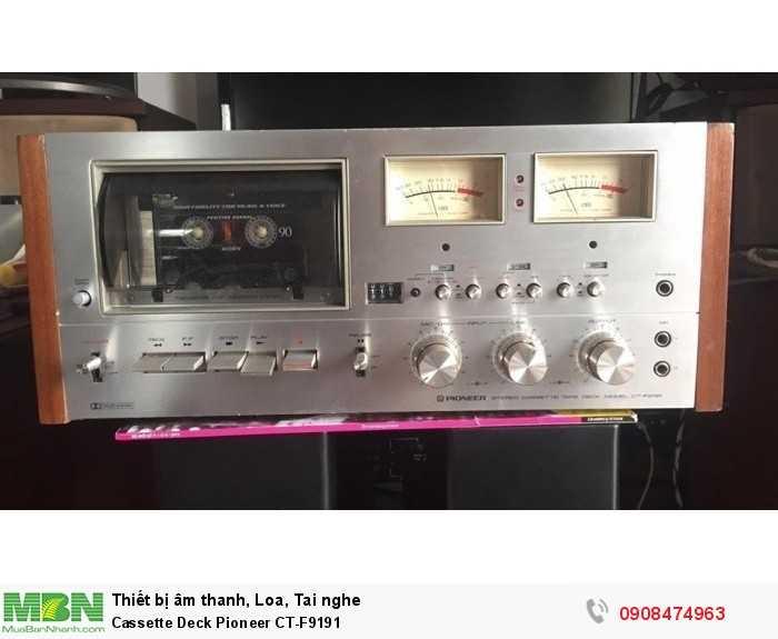 Cassette Deck Pioneer CT-F91910