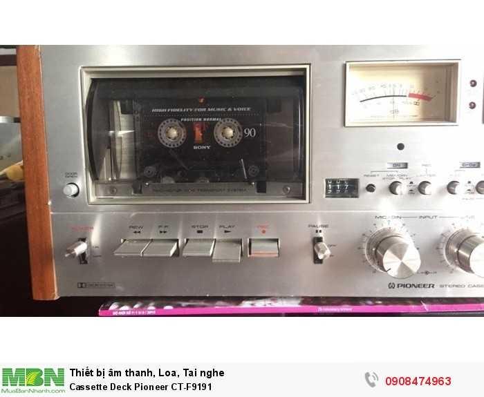 Cassette Deck Pioneer CT-F91912