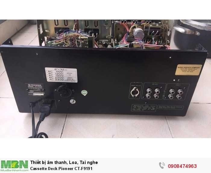 Cassette Deck Pioneer CT-F91914