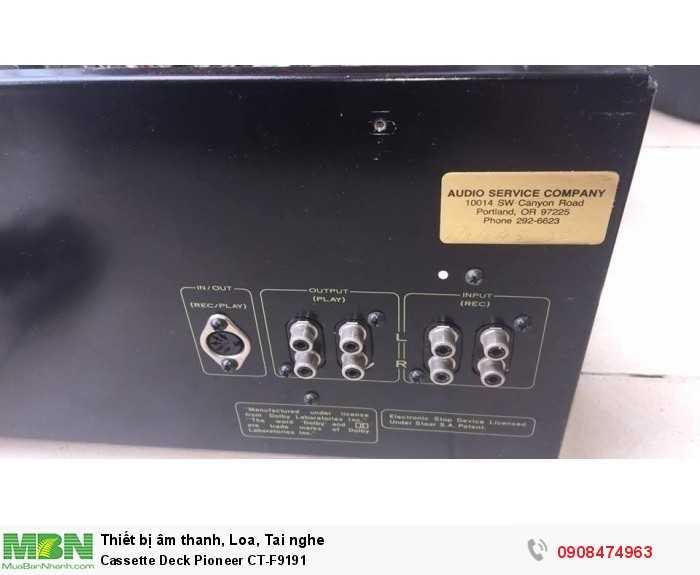 Cassette Deck Pioneer CT-F91915