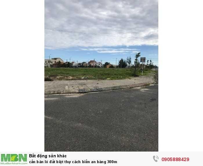 Cần Bán Lô Đất Biệt Thự Cách Biển An Bàng 300M